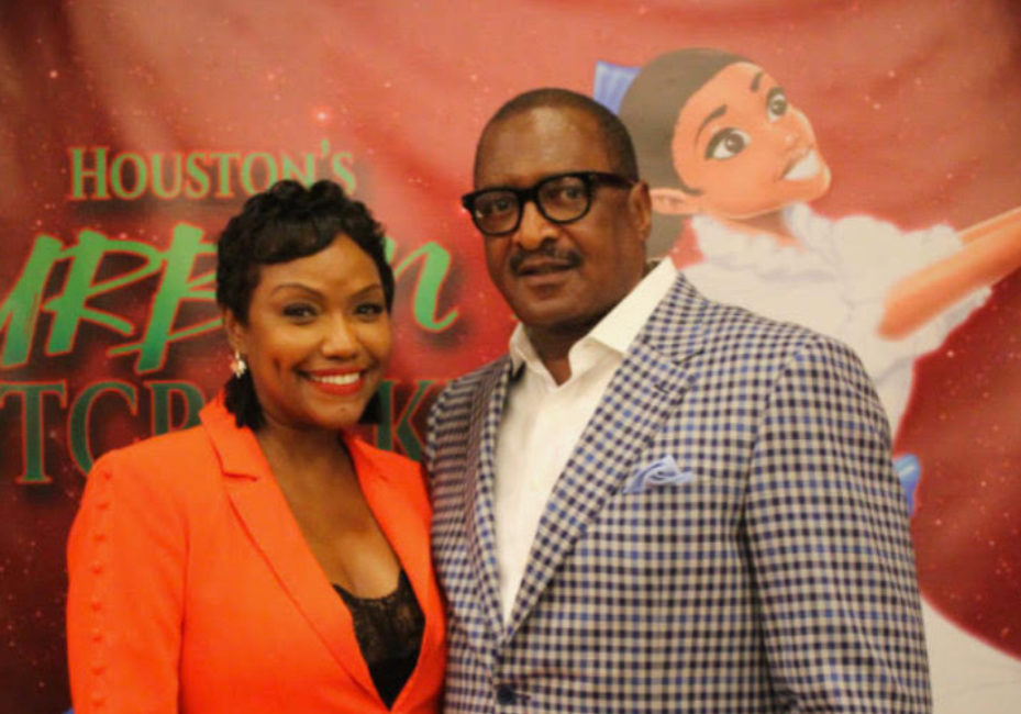 Gena and Mathew Knowles Fundraiser Pic